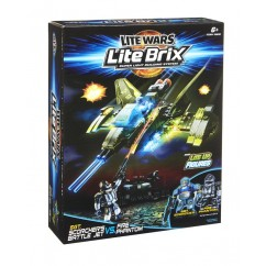 Lite Wars Lite Brix SGT. Scorcher's Battle Jet Vs Fire Phantom